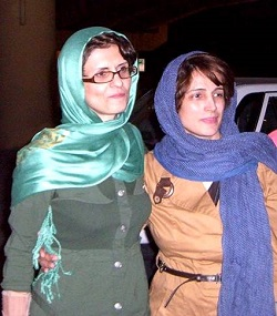 Jila Baniyaghoub & Nasrin Sotoudeh