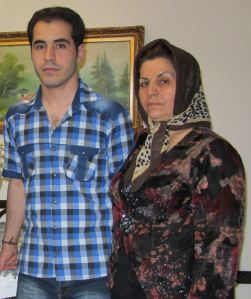Hossein & his mother