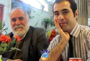 Hossein Ronaghi & father